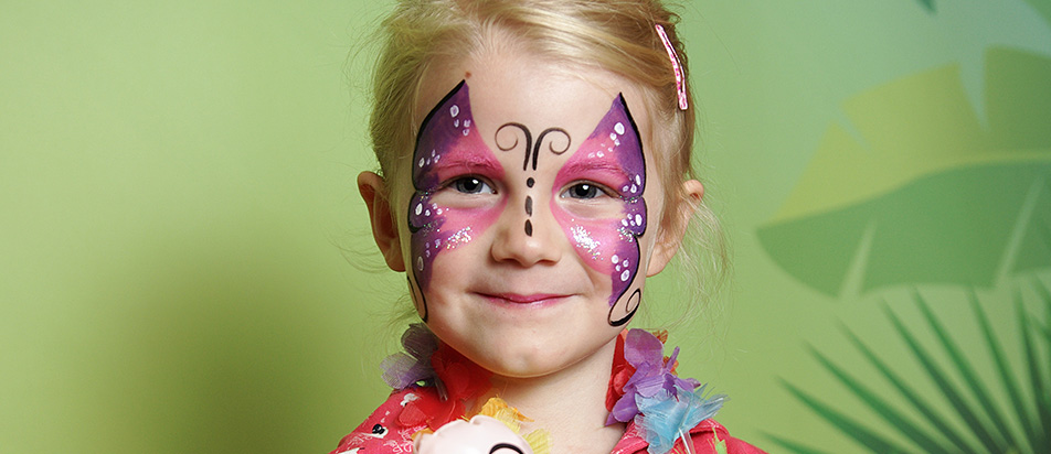 Kinderschminken & Glitzer-Tattoos von Knallfrosch Aachen